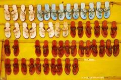 Flohmarkt in Hampi, Indien Lizenzfreie Stockbilder