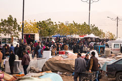 Flohmarkt im Irak Stockfotos