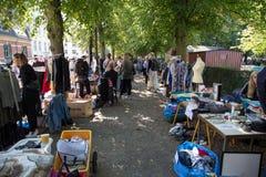 Flohmarkt in Kopenhagen Lizenzfreie Stockbilder