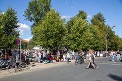 Flohmarkt in Kopenhagen Stockfotos