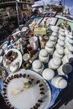 Flohmarkt Monastiraki Sonntag stockbilder