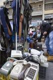 Flohmarkt Monastiraki Sonntag Stockfotografie