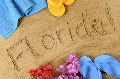 Florida beach  Stock Photos