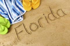 Florida beach  Royalty Free Stock Photos