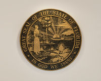 Floirda State Seal Stock Images