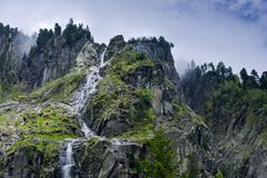 At  Floitenground by Ginzling, Zillertaler Alps Royalty Free Stock Images