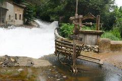 Flood. Set at Universal Studios backlot tour, Los Angeles stock photography