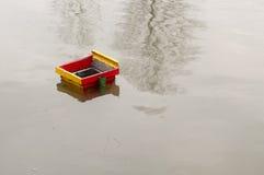Flood. A flooded park in Bosnia Royalty Free Stock Photos