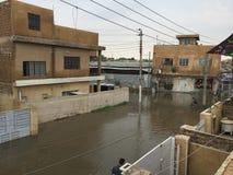Flood Baghdad Stock Images