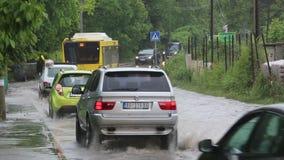 Flood stock video