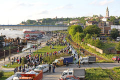 Flood Belgrade Royalty Free Stock Photos