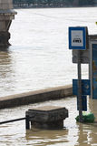 Flood. In the city, Budapest Stock Images