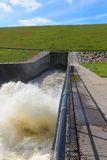 Flood control outlet Stock Photography