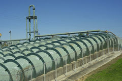 Flood Control Pipes Royalty Free Stock Photography