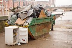 Flood Damaga Royalty Free Stock Image
