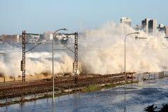 Flood Damage Royalty Free Stock Photography