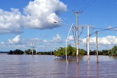 Flood Royalty Free Stock Photo
