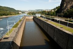 Flood-gate Royalty Free Stock Photo