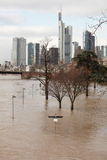 Flood in Germany stock image