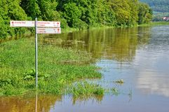 Flood Royalty Free Stock Images