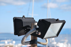 Flood light Royalty Free Stock Photo