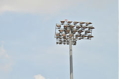 Flood Lights Stock Photo