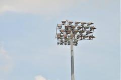 Flood Lights. At A Stadium Stock Photo