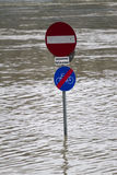 Flood in Linz 2013 Royalty Free Stock Photography