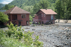 Flood in 2014 - Maglaj - Bosnia And Herzegovina Royalty Free Stock Photos