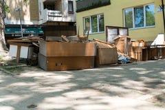 Flood In 2014 Maglaj - Bosnia And Herzegovina Royalty Free Stock Image