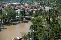 Flood In 2014 Maglaj - Bosnia And Herzegovina Royalty Free Stock Photos