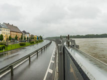 Flood, 2013, mauthausen, austria Stock Photos