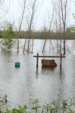 Flood in Midwest Stock Photos