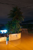 Flood at Night. Flood in poor living area near Rio de Janeiro, Brazil Royalty Free Stock Photos