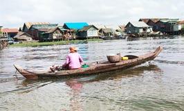 Flood Of Mekong Royalty Free Stock Photos