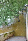 Flood in Paris Stock Image