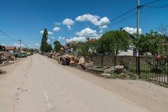 Flood in 2014 - Pridijel - Bosnia And Herzegovina Royalty Free Stock Image