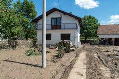 Flood in 2014 - Pridijel - Bosnia And Herzegovina Royalty Free Stock Photos
