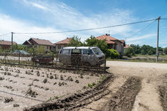 Flood in 2014 - Pridijel - Bosnia And Herzegovina Royalty Free Stock Photography
