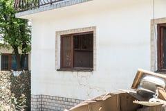 Flood in 2014 - Pridijel - Bosnia And Herzegovina Royalty Free Stock Photography