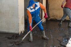 Flood in 2014 - Pridijel - Bosnia And Herzegovina Stock Photography