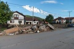 Flood in 2014 - Pridijel - Bosnia And Herzegovina Royalty Free Stock Photo