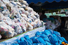 Flood relief supply Royalty Free Stock Images
