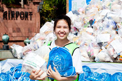 Flood relief supply Royalty Free Stock Photo