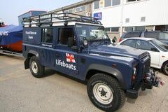 Flood rescue vehicle stock photography