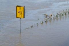 Flood river Vltava Prague Czech republic june 2013 Stock Photo
