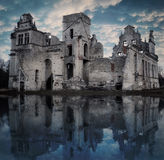 Flood and ruins Stock Photography