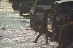 FLOOD Semarang Stock Images