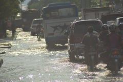FLOOD Semarang Royalty Free Stock Image
