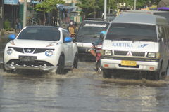FLOOD Semarang Stock Image